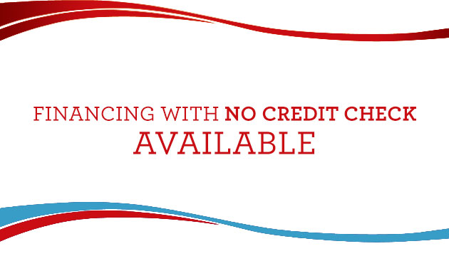 Financing with No Credit Check